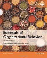 Essentials of Organizational Behavior, Global Edition | 9781292090078