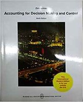Accounting for Decision Making and Control | 9781259255007