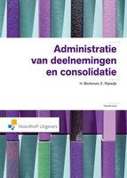 9789001820695   Administratie van deelnemingen en consolidatie