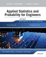 Applied Statistics and Probability for Engineers | 9781118744123