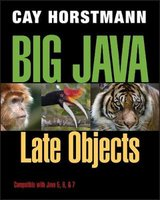 Big Java Late Objects | 9781118087886