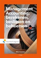 9789001878498 | Management accounting: berekenen beslissen en beheersen
