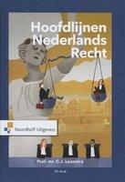 Hoofdlijnen Nederlands recht | 9789001886257