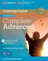 9781107688230 | Complete Advanced Student's Book Pack (Student's Book with Answers with CD-ROM and Class Audio CDs (2))