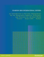9781292027159 | Introduction to Revenue Management for the Hospitality Industry: Pearson International Edition