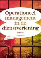 9789043034975 | Operationeel management in de dienstverlening - 4e editie