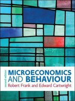 Microeconomics and Behaviour 2e ed   9780077174088