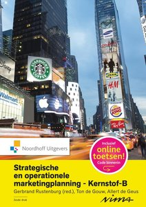 9789001853150 | Strategische en operationele marketingplanning- Kernstof B