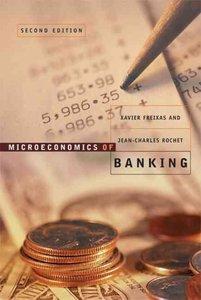 Microeconomics of Banking | 9780262062701