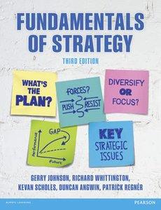 Fundamentals of Strategy | 9781292017303