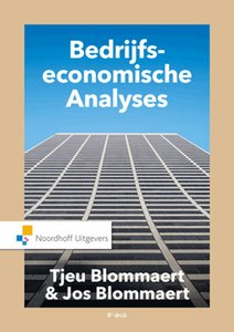 Bedrijfseconomische Analyses   9789001867232